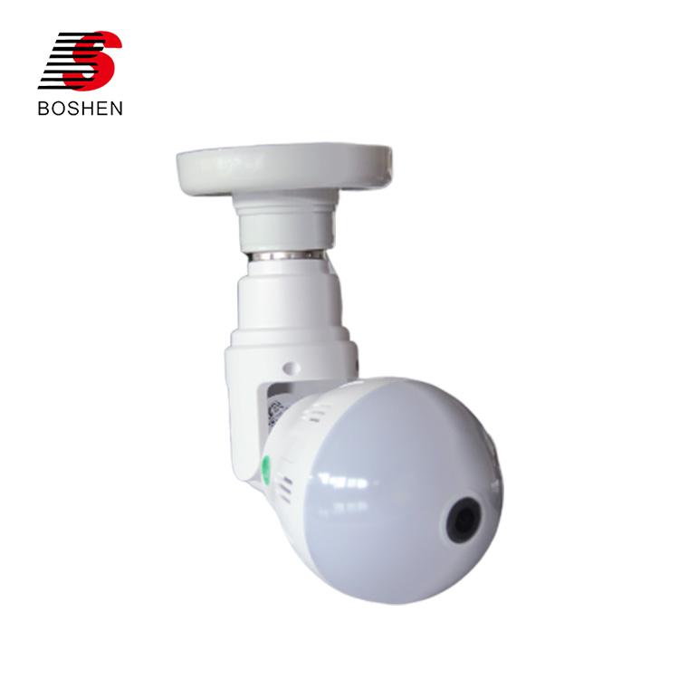 Wifiパノラマ隠し 1080 720pワイヤレスセキュリティ電球ライトcctvワイヤレスカメラ