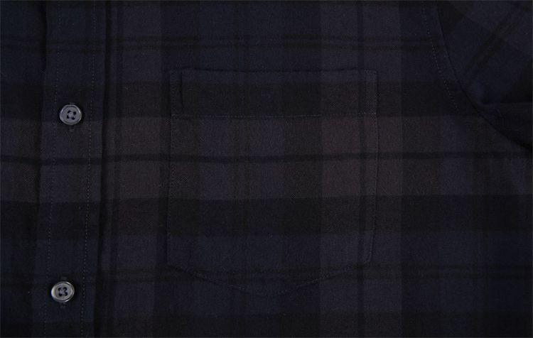 2020 Pronto para Navio de Inverno de Alta Qualidade Preço Barato Por Atacado da Camisa de Flanela Xadrez