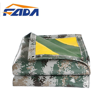 China Waterproof PVC Army Camouflage Tarpaulin Camo Tarps for Tent Cover
