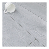 Double click water resisting wood texture laminate floor tiles