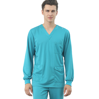 New design male doctor uniform hospital nurse female quick delivery