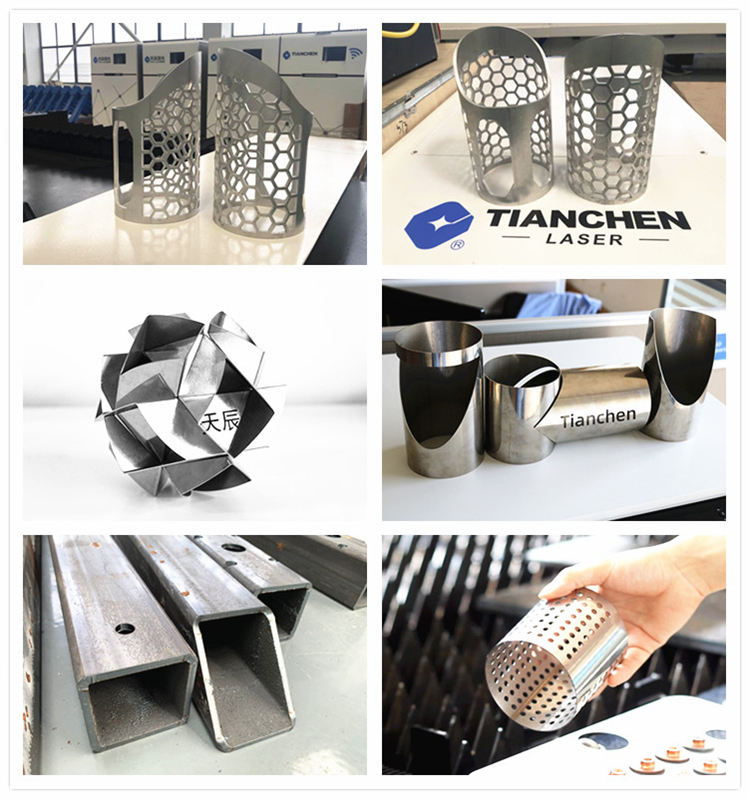 Professional supplier Tianchen 25 years experience automatic tube metal cnc laser cutting machine