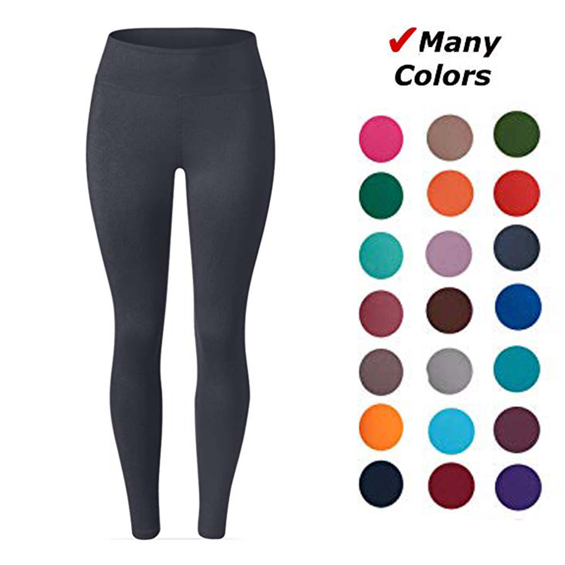 New Spring Solid Leggings Full length for Women High Stretched Female Legging Pants Girl Clothing Leggins Plus Size
