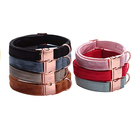 Eco-Friendly Dog Collar for Dogs Collars for Soft Velvet Pet Dog Collar Set Adjustable Collars for Small Medium Large Dogs
