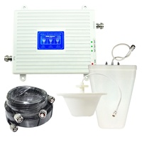 FDD and LTE 4G mobile network booster 900mhz 1800mhz 2600mhz cell phone signal booster