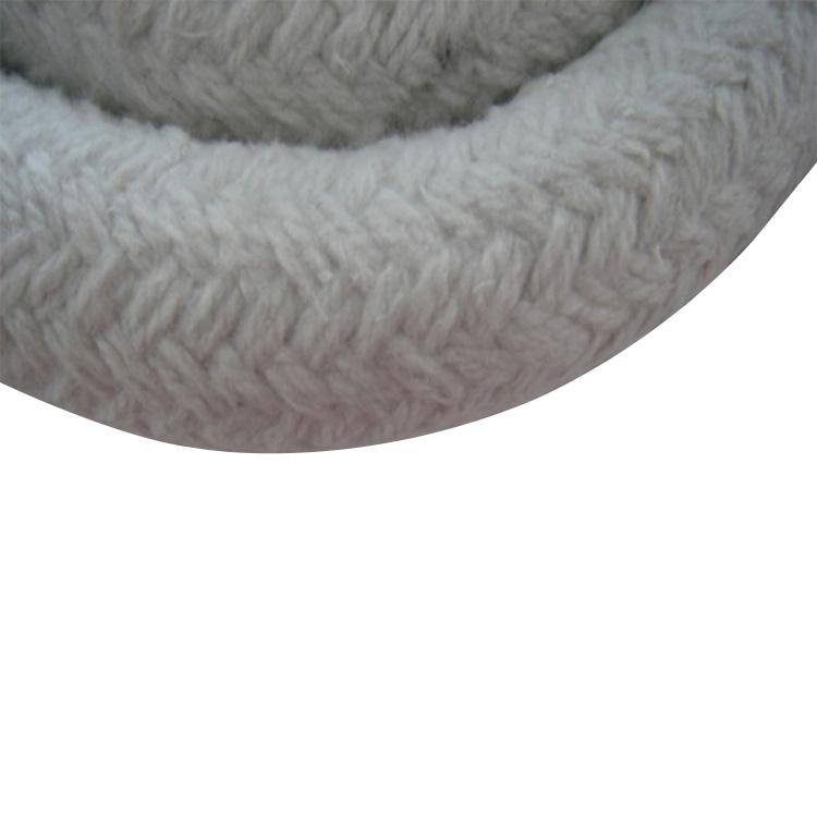 heat insulation fire resistant Ceramic fibre oven door sealing rope braided