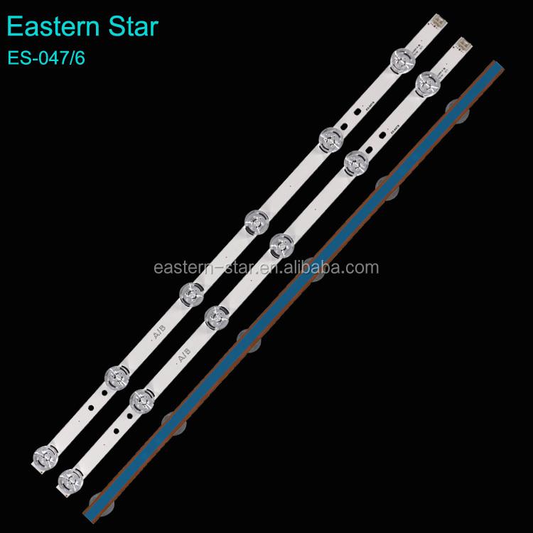 Eastern Star 32LB led tv backlight 3030 DRT 3.0 A/B type Rev0.1 use for LG with BIG LENS 6 lens