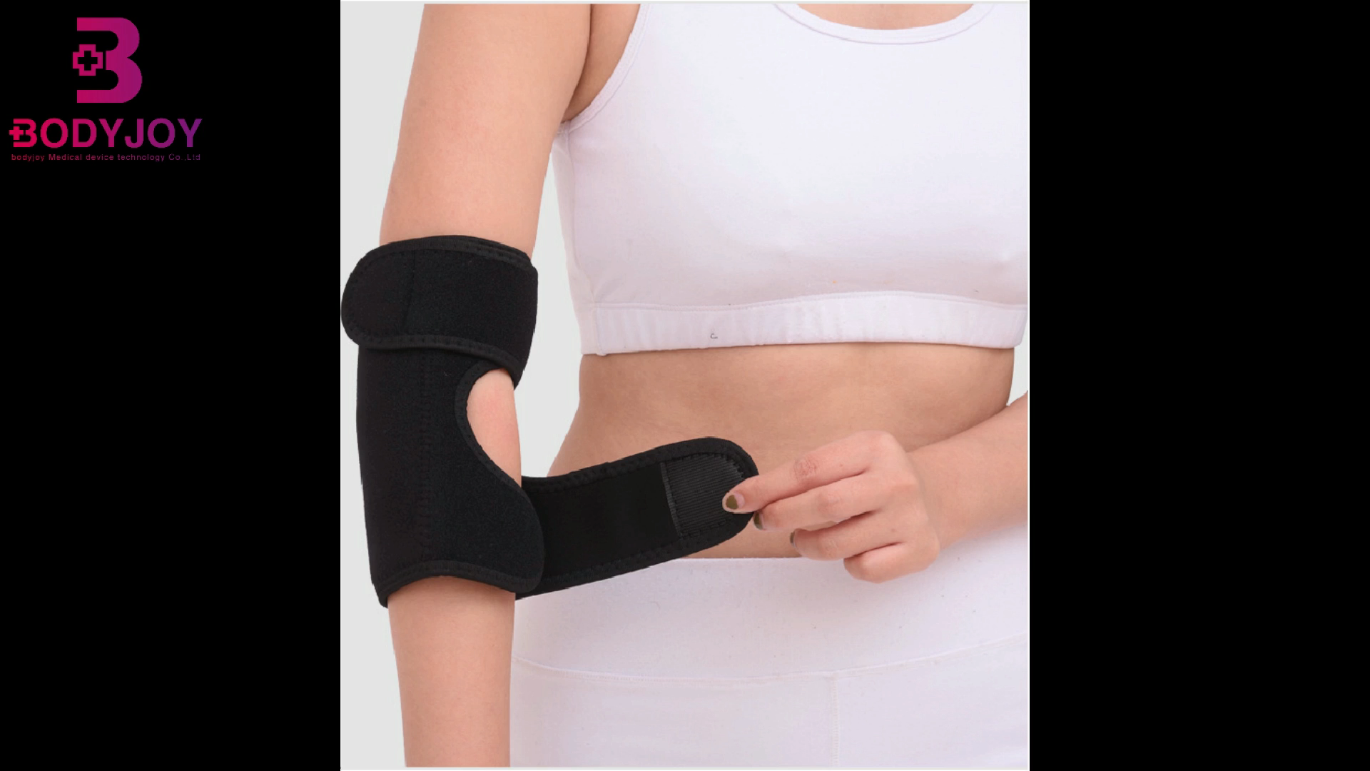 2020 new factory price custom elbow brace sleeve support