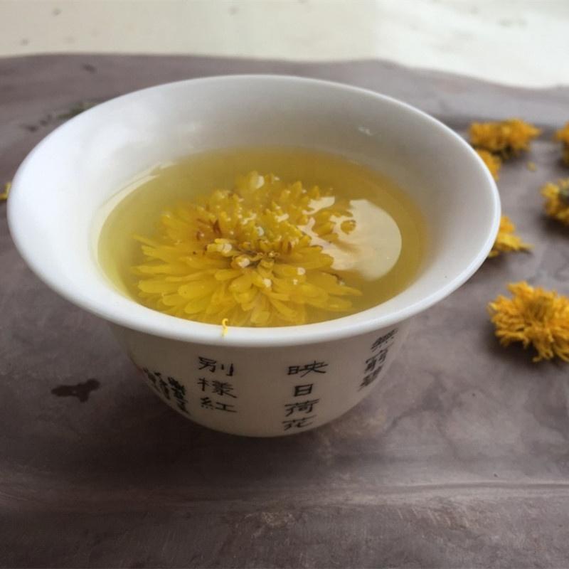 Traditional Natural Flower Tea Dried Yellow Chrysanthemum Tea - 4uTea | 4uTea.com