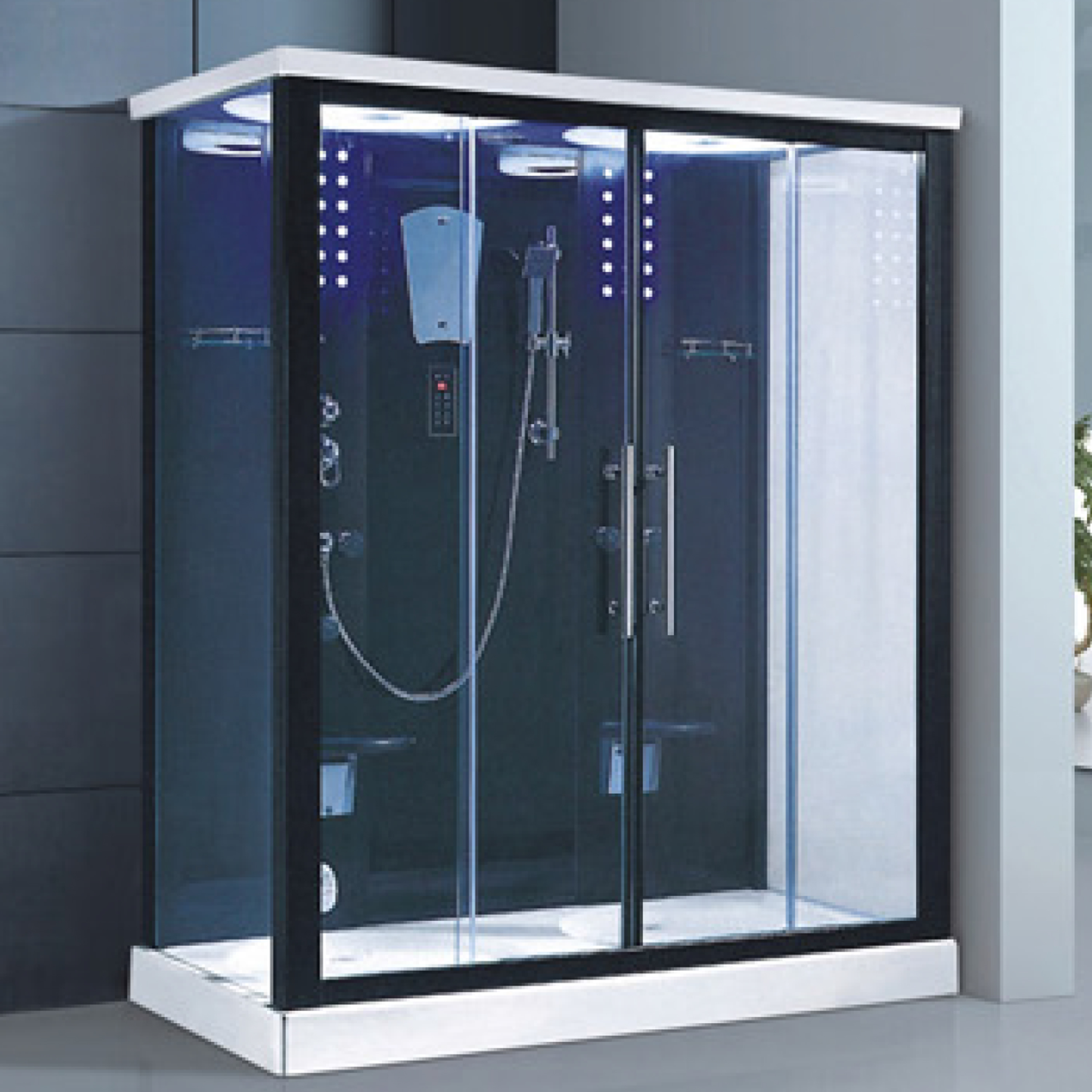 luxury home steam shower cabin cubicles room bath kits 1200x900