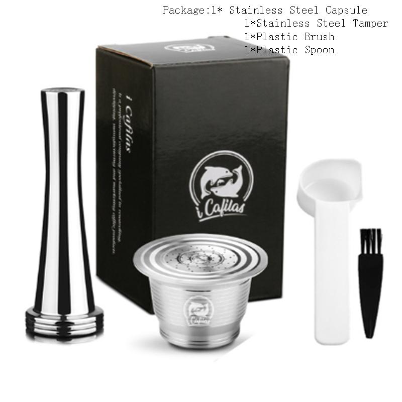 Belr-товары для дома для Nespresso многоразовые кофе капсулы многоразового использования эспрессо кофе фильтры кофе Crema Maker(Китай)
