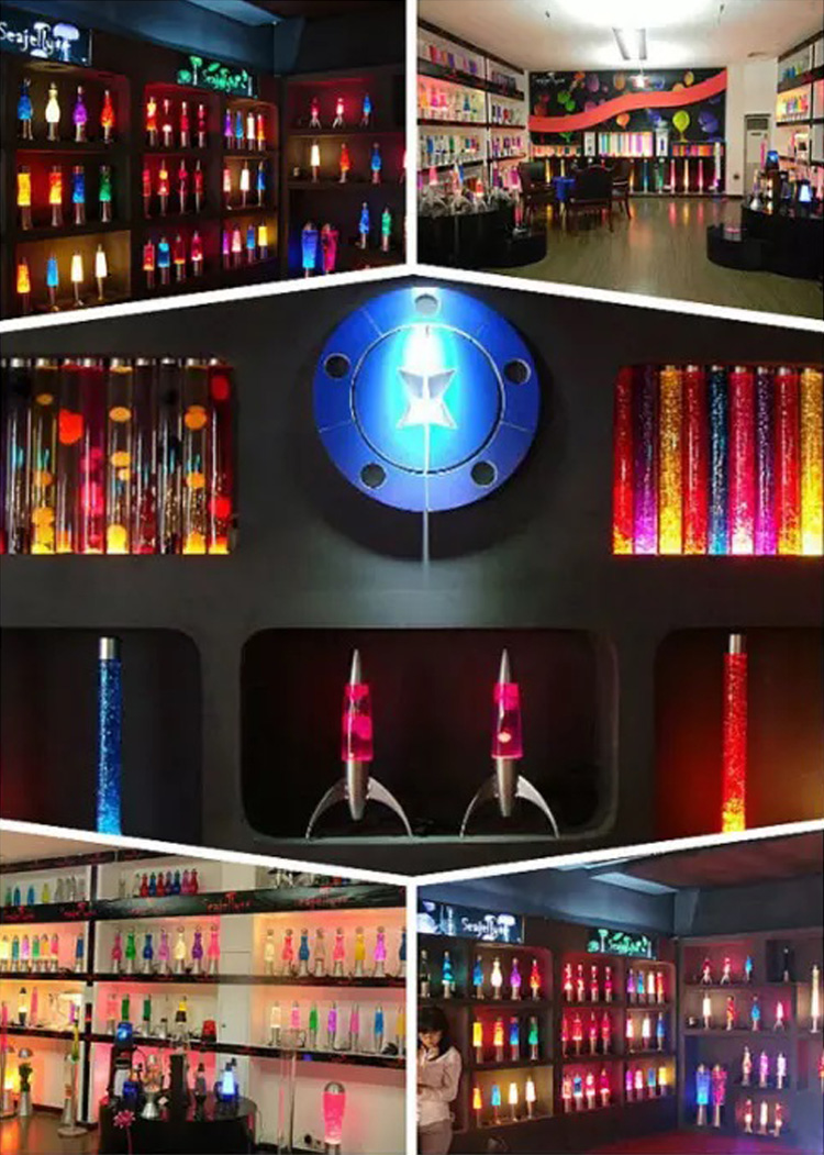 2019 Promosi Acrylic LED Isi Ulang Silinder Cermin Rotan Warna Kaca Industri Modern Lampu Meja Hadiah Lampu