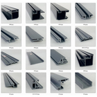 Plastic PVC Profile for Windows and Doors High UV Protection White Color UPVC Profiles