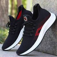 2019 new lightweight black sneakers outdoor running men sport shoes