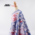 Factory price garment wholesale kint DTY flower stretch 92 polyester 8 spandex fabric with crush