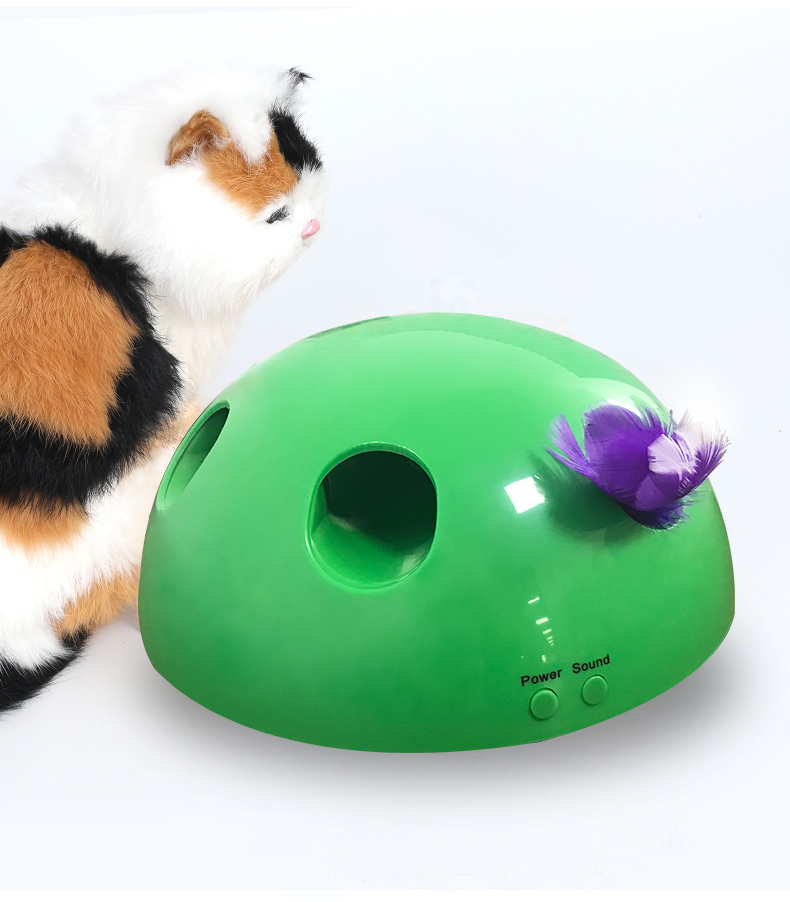 ABS Pop Play Pet Toy Ball POP N PLAY Cat Scratching Device Funny Cat Toy For Cat Sharpen Claw