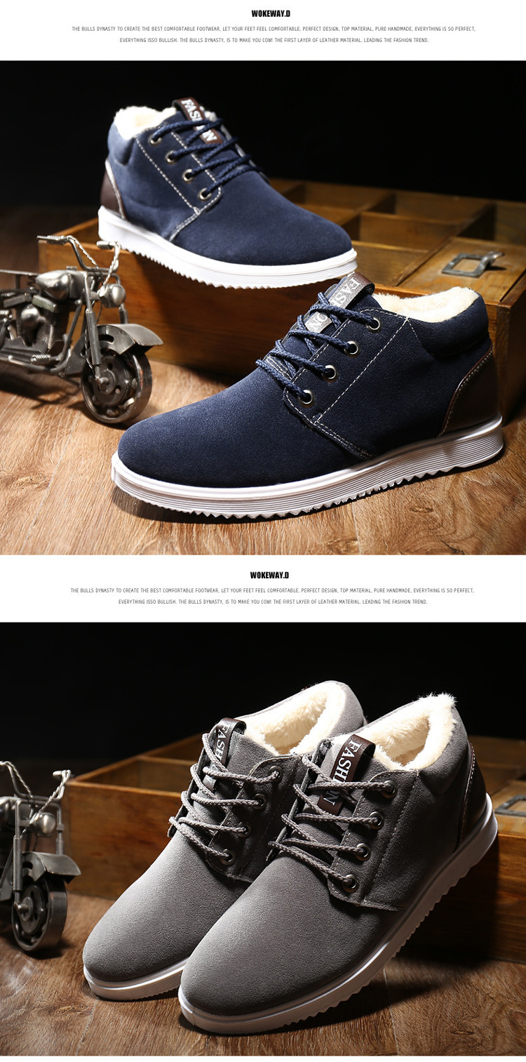 2019 Hot sale high quality men winter outdoor shoes