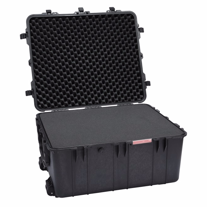 New With Handle Molded Shockproof Plastic Custom Made Dj Mixer Flight Case For Pioneer DDJ-SR2