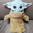 Toy Doll Toys Wholesale Dropship 30cm Baby Yoda Plush Toy Master Yoda Stuffed Doll Toys Children Gift