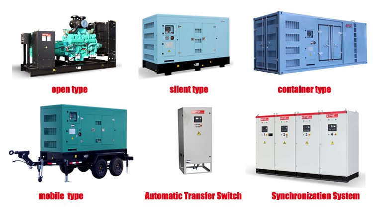 80kw 100kw open super silent diesel genset generador 100kva 125kva soundproof generator generation low price