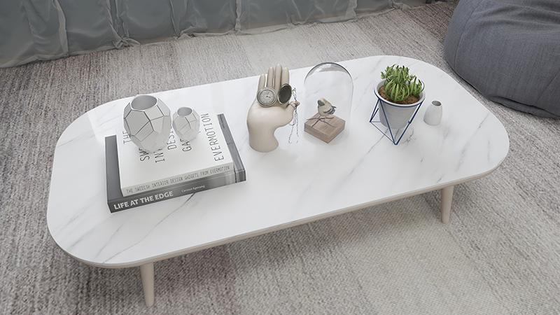 높은 광택 대리석 벽 종이 자기 접착 비닐 방수 벽지 캐비닛