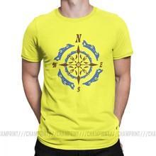 Футболка в стиле стимпанка морской компас подарок Gears Мужская футболка ретро механические Юмористические футболки короткий рукав хлопок О...(Китай)