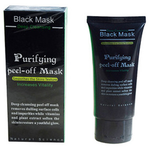 Amazon hot selling facial mask OEM 50g Mineral Mud Blackhead Remove Black Mask