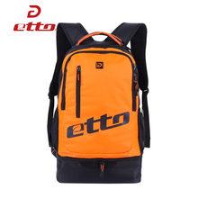 Водонепроницаемая тренировочная сумка Etto для футбольных мячей, мужчин и женщин, спортивный рюкзак с подошвой, независимая обувь, мужская сп...(Китай)
