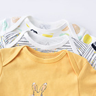 Baby Clothes Baby Girl Clothes Unisex 100% Cotton Material Baby Bodysuit Snap Crotch High Quality For America