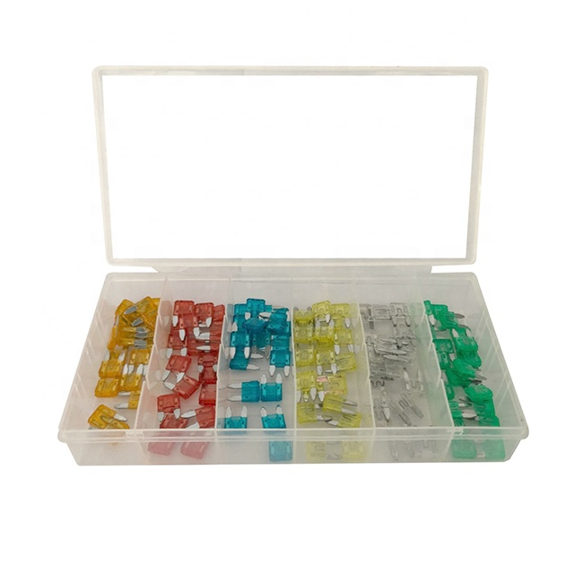 Car Auto Mini Fuse Assortment