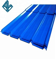 Wholesale 22 Gauge ral7011 gi Corrugated Steel Sheet ppgi ppgl roofing sheet Price Per Kg