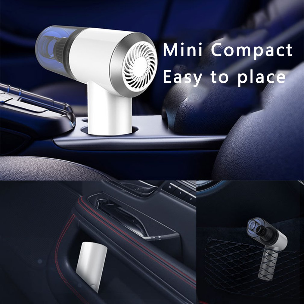 2020 nuevo diseño aspiradora de mano portátil para casa inalámbrico Mini colector de polvo fuerte ciclón de succión