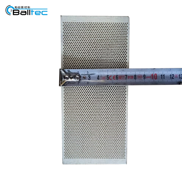Rectangle Shape BBQ Industrial Infrared Gas Burners Use Cordierite Honeycomb Ceramic Plate