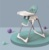 Portable Baby Feeding High Chair with EN certificate, 3 in 1 multi-function portable high chair
