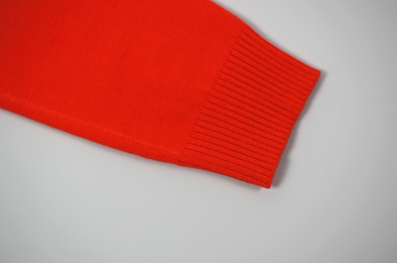 Cardigan essentiel à col rond à manches trois-quarts pour femmes