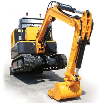 Shandong Manufacture 0.8t Mini Rubber Track Cralwer Excavator for Garden Use 0.025m3 Bucket China New Mini Excavator Price