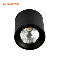 HH25 Cylinder Alu 30w 20w 35w 15W Surface Mounted Residential Led Down Light,Round Ceiling Surface Mounted Cob Led Downlight