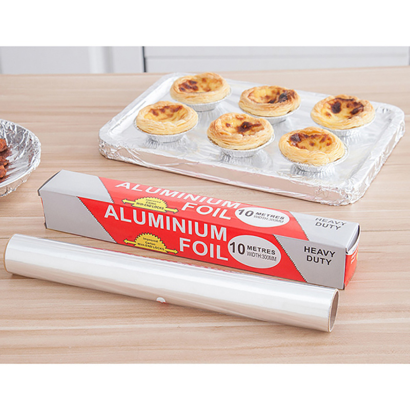 Soft Paper Foil Food Packing Household Aluminum Foil 6 Micron/9 Micron