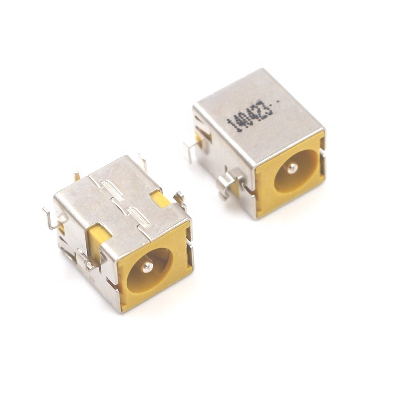 DC power jack charging port socket plug connector for HP NX5000 NC6220 NC6230 <strong>V1000</strong> laptop new yellow color