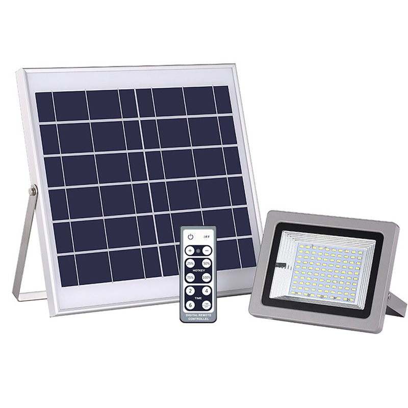 IP65 Wasserdicht 100led Outdoor Flutlicht LED Solar Flutlicht