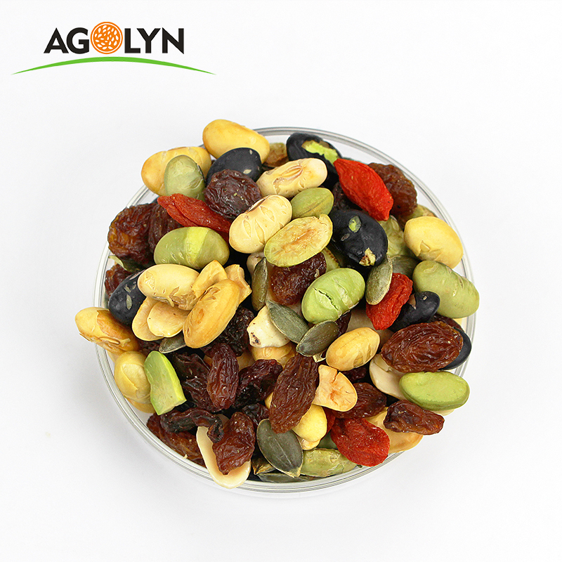 AGOLYN Daily Organic Healthy Snacks Mixed Nuts
