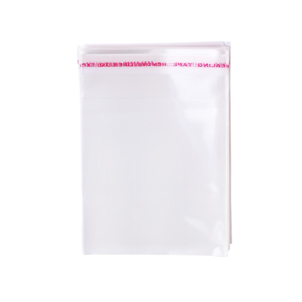 Opp bag adhesive self-adhesive transparent clothing bag moisture-proof sealed plastic bags