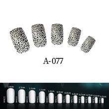 24 шт поддельные ногти с дизайном 96 цветов девушка ногти простые и удобные операции ногти советы(Китай)