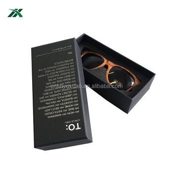 Newest sunglasses gift cardboard box with EVA insert