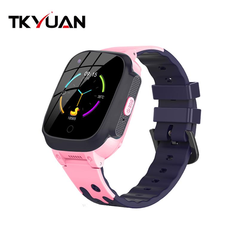 새로운 도착 T8 비디오 4G 아기 똑똑한 시계 방수 Wifi 위치 키즈 Gps 트래커 Smartwatch 키즈 스마트 전화 시계