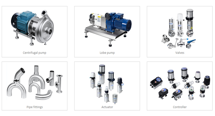 Food grade stainless screw pump Servo motor stator and rotor double screw pump particle conveying screw pump