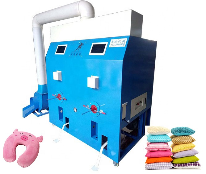 Fabric Opening Progress Portable Soft Sofa Fiber Cotton Opening Bear Toy Filler Stuffing Machine For Pillow Filling Machine