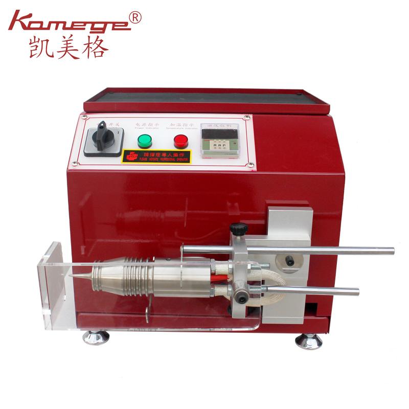 Kamege XD-161 Leather Bag Belt Making Vegetable Tanned Mini Desk Leather Polishing Burnishing Glaze Machine