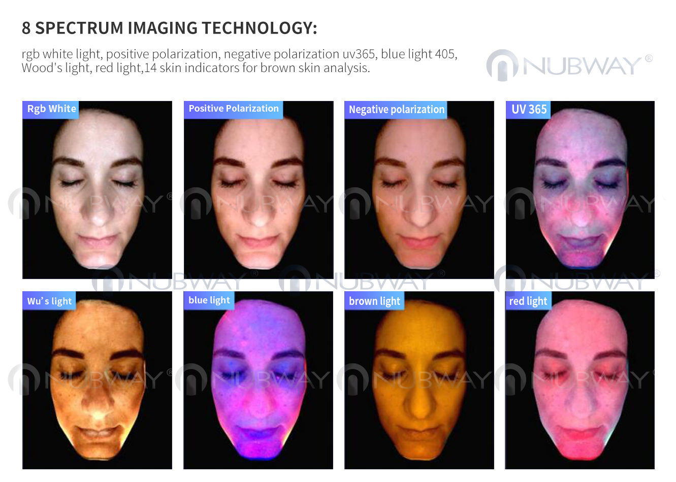3d Face View Portable Magic Mirror Skin Analyzer With Cbs Software