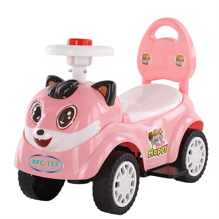 2020 Popular New Product Kids Four Wheels Swing Car Ride On Car Kids Baby Walker